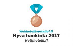 hyvä webhotelli 2017 Nettihotelli.fi